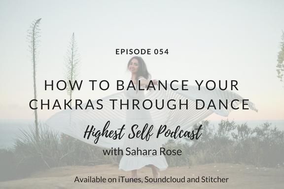 How to balance your chakras through dance