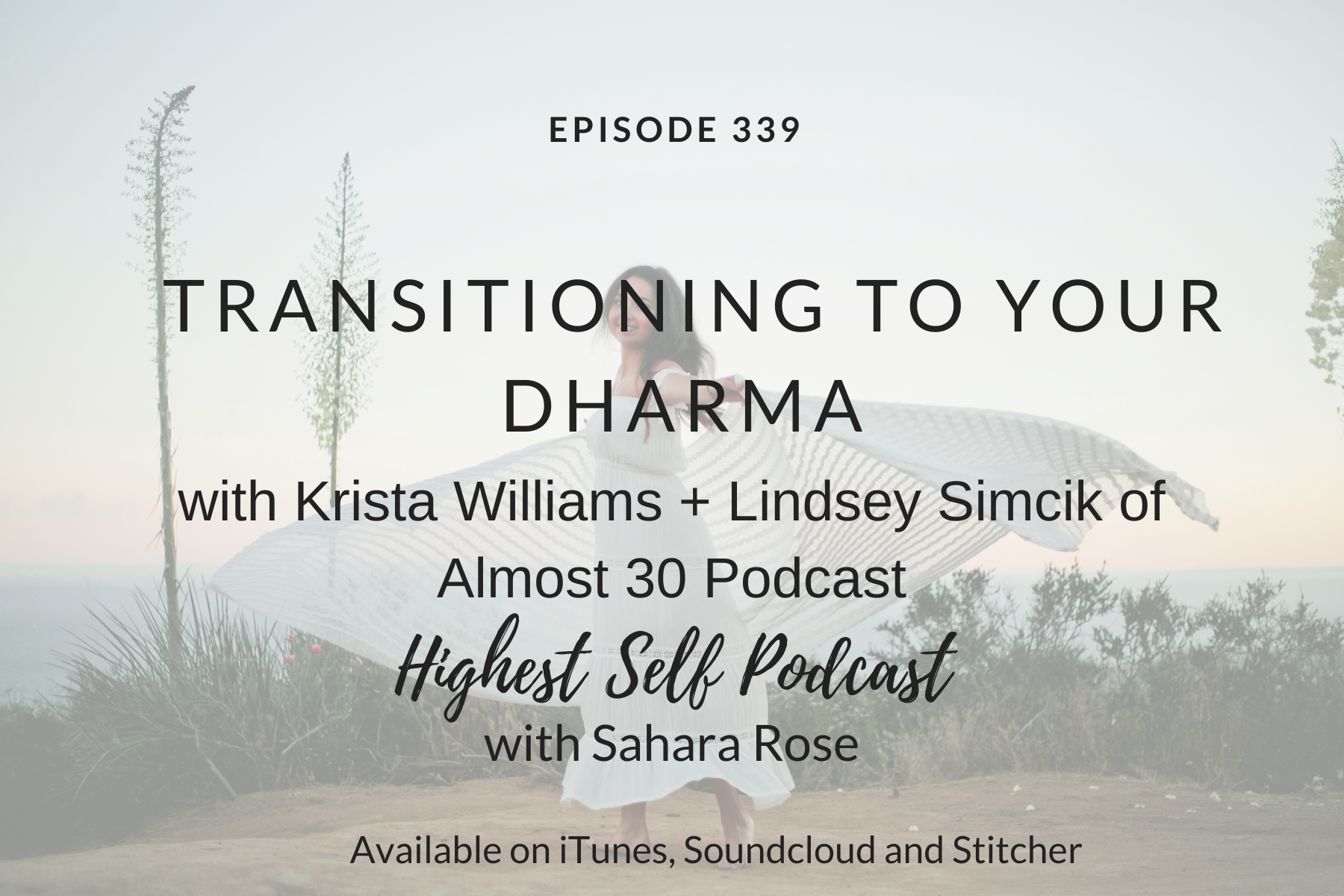 Transitioning to Your Dharma