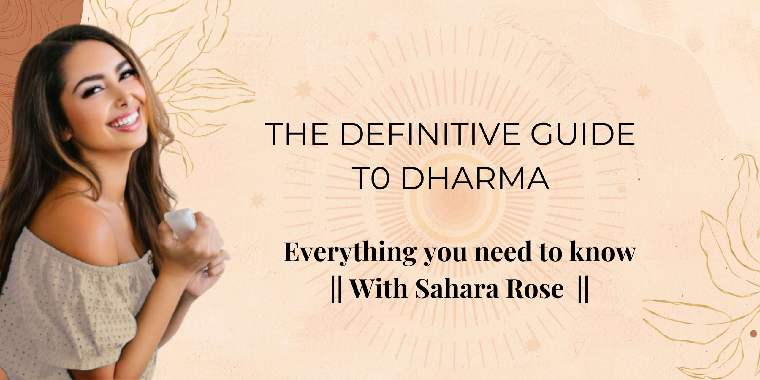 The Definitive Guide To Dharma